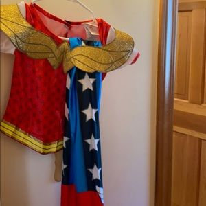Girls Wonder Woman Costume Kid Size Medium